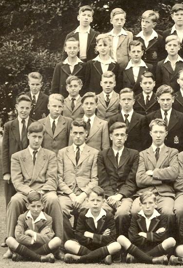 Soham Grammar School Photo, July 1952